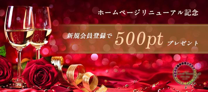 500ptプレゼント